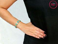 Pulseira de couro com toque de cor! Exclusiva! 🆒🔝 💻 wwww.minhanovabiju.com.br 📱Whatsapp: (71) 99165-0201 🚚 Frete  grátis para as compras acima de  R$ 200  #minhanovabiju #acessoriosfemininos #acessorios #pulseiradecouro  #pulseirabolas #lojaonline  #bijuterias #bijuteriasfinas #modafeminina #modacasual  #salvadorbahia #enviamosparatodobrasil