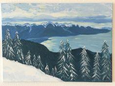 Ma piste de ski préférée, maintenant aussi dans la maison... Plus Belle, Mountains, Nature, Travel, Poster Board Ideas, Dance Floors, Painted Canvas, World, Home