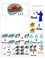 Noah's Ark Tot printables
