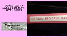 Sheri Ann Richerson from ExperimentalHomesteader.com talks about the LoveU Extra Large BBQ Mat - Oven Liner that she received for review.  I chose to use this mat to line older cookie sheets when I was using them for making pies and cakes. This way if there is an overflow it is easier to clean up. These are also great for baking cookies on because they cover up older cookie sheets that might not look as nice and they are super easy to clean up. So far none of the sticky pie overflow cookies…
