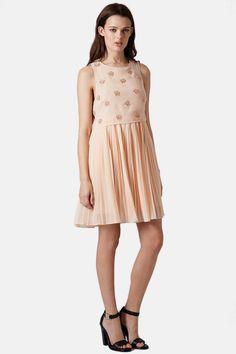 Topshop Beaded Popover Dress (Juniors) by TOPSHOP on @nordstrom_rack