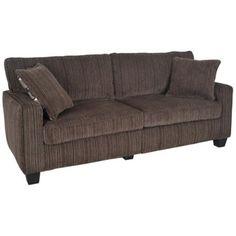 Serta San Paolo Mink Brown Fabric Sofa