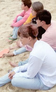 Suho, Sehun, Chen, & Kai [scan] dear happiness photobook
