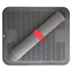 "Extra Large Dish Drying Mat - Premium Silicone Design with Bonus Storage Holder - Antibacterial Dishwasher Safe - Heat Resistant Trivet - Perfect 17.8"" x 15.8"" Size Echidna http://www.amazon.com/dp/B017KCEV1Y/ref=cm_sw_r_pi_dp_KuTFwb0HJWSP0"