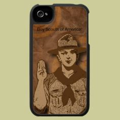 Boy Scouts of America cell phone case, from the Boy Scouts of America shop at Zazzle.