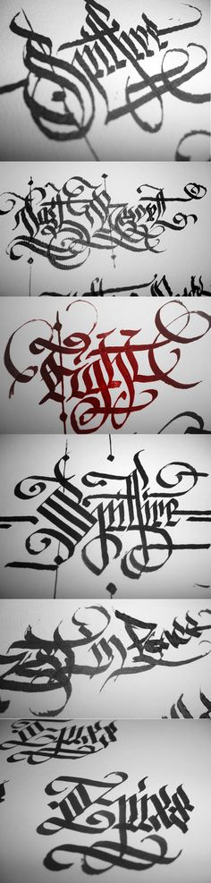 Calligraphy by r77adder.deviantart.com on @deviantART