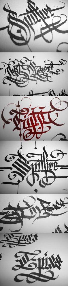 Calligraphy by r77adder.deviantart.com on @deviantART