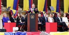 """A Colombia en paz no la frena nadie"": Juan Manuel Santos Saints, Day Planners, Peace, Colombia"