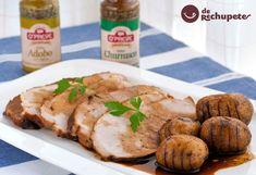 Jamón asado al horno. Receta de #Navidad http://www.recetasderechupete.com/jamon-asado-al-horno-receta-de-navidad/18156/ Los asados siempre triunfan