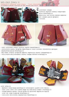 PG 1/60 Char's Zaku II The ORIGIN Format - Semi-Scratch Build     Modeled by G-Farmer Gundam Tutorial, Perfect Grade, Gundam Custom Build, Gunpla Custom, Gundam Art, Gundam Model, Mobile Suit, Marvel Legends, Action Figures