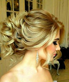 Messy updo...nice