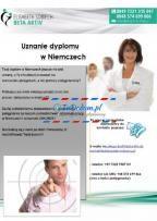 Ogłoszenie w serwisie TuDodam.pl: Pielęgniarkanostryfikacjapraca w renomowanych klinikach-Niemcy