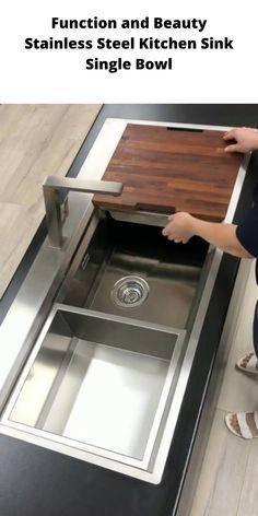 Kitchen Room Design, Home Room Design, Modern Kitchen Design, Home Decor Kitchen, Interior Design Kitchen, Decorating Kitchen, Interior Ideas, Kitchen Cabinet Design, Modern Design