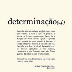 """""""... desistir não é uma opção"""" #repost Pretty Quotes, Amazing Quotes, Late Night Thoughts, Literary Quotes, Some Words, Inspire Me, Texts, Meant To Be, Inspirational Quotes"""