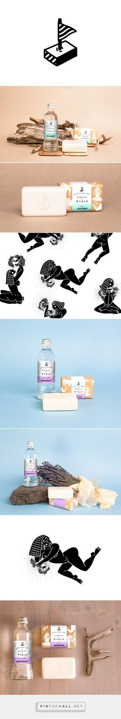 BRANDING AND PACKAGING FOR SOAP MANUFACTORY on Behance by Maria Mileńko curated by Packaging Diva PD. Concept of branding and packaging for Ministerstwo Dobrego Mydła - manufactory of natural soap.