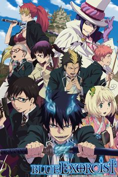 Blue Exorcist (watched)