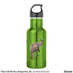They Call Me Roo, Kanga-Roo, Aluminum Water Bottle 532 Ml Water Bottle