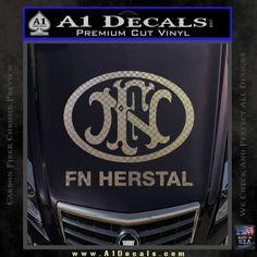 FN Herstal Decal Sticker
