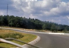 """The track from the driver's view in the early 1970s – """"Metzgesfeld"""""""