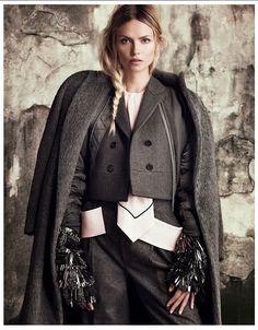 'The Development Of Form' by Luigi + Iango for Vogue Japan September 2014 [Editorial]