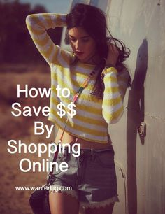 How to Save $$ By Shopping Online: 5 hacks to stay under budget  #fashion #shopping #moneysaver #howto