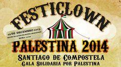 Gala Solidaria Festiclown Palestina en Santiago de Compostela