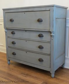 The Real Milk Paint Co French Grey. Empire Furniture, Grey Furniture, Distressed Furniture, French Furniture, Refurbished Furniture, Repurposed Furniture, Painted Furniture, Furniture Ideas, Real Milk Paint
