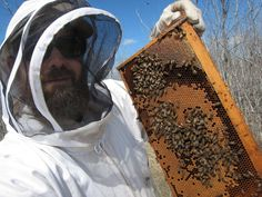 Me and the bees. Market Garden, Bees, Ethnic Recipes, Wood Bees