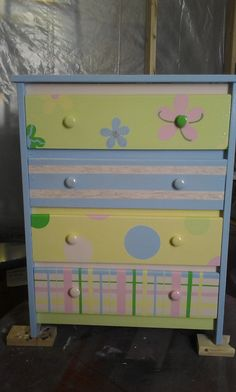 Little Girls Dresser. Omg I absolutely love this! That would look so cute in my granddaughters room!