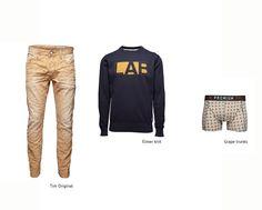 #men #autumn #winter #pants #boxer #knit #fashion #beige #blue