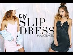 ‪DIY Slip Dress‬‏ - YouTube