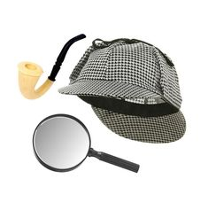 Sherlock Holmes Houndstooth Detective Hat With Costume Pipe & Magnifying Glass for sale online Detective Costume, Detective Theme, Baby Halloween Costumes, Cool Costumes, Halloween 2018, Sherlock Holmes Costume, Sherlock Pipe, Pikachu, Baby Girl Fashion