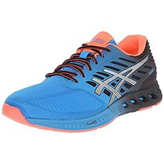 finest selection aa7be 6110a Asics Mens Fuze x Mesh Colorblock Running Shoes