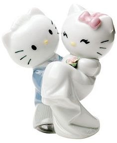 Nao by Lladro Collectible Figurine, Hello Kitty Gets Married - Collectible Figurines - for the home - Macy