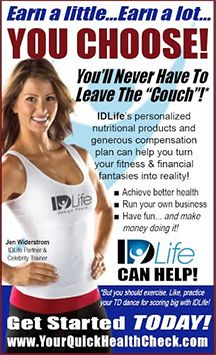 With IDLife's unique, high-quality health and wellness products, and with the powerful IDLife earning opportunity, it's your own business – you set your hours, you set your goals, you make it happen. Isn't that the way it should be? TAKE YOUR FREE ONLINE HEALTH ASSESSMENT! Go to: www.Habakkuk.IDLife.com