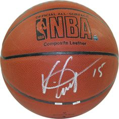 "Vince Carter Signed NBA I/O Basketball Vince Carter has been in the league 15+ years and he has been a valuable asset to every team he has been on. From his ""Air Canada"" days for the Toronto Raptors t"