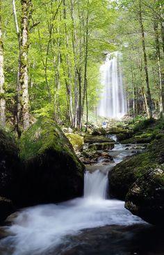 Cascades du hérisson, Jura