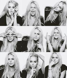 Lindsay Lohan portraits, photographed by Yu Tsai