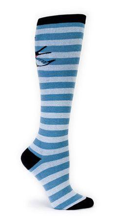 Sparrow Knee High Socks