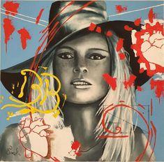 Still image between two heartbeats | Ponzellini Devis Image Beat, Oil On Canvas, Canvas Art, Original Paintings, Original Art, Brigitte Bardot, Still Image, In A Heartbeat, Artwork Online