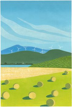 Wind Farm - Sabra Field's Online Gallery