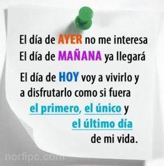 Frase De Motivacion Del Dia Cortas Y Superacion Personal   Frase ...