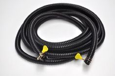 20' Ribbed Hose Three Quarter Inch with Clamps by Pond H2O. $17.99. 20 Foot of Three Qtr Inch Ribbed hose with 2 hose clamps. Strong and flexible with a smooth bore. 2 wire clamps allow secure attaching to other pond equipment. Pre Cut 20 foot length of Three Qtr inch Black ribbed hose with clamps to attach it to  pump & filter