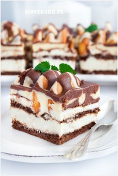 Ciasto góra lodowa Tasty, Yummy Food, Pie Dessert, Baked Goods, Tiramisu, Oreo, Food And Drink, Sweets, Cookies