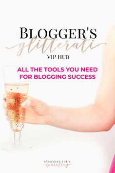 Find all the tools, resources and tutorials you will need to start a blog in one place ! Join the Blogger's Glitterati VIP Hub for the latest tips and tutorials on creating a blog. #blogtips #startablog