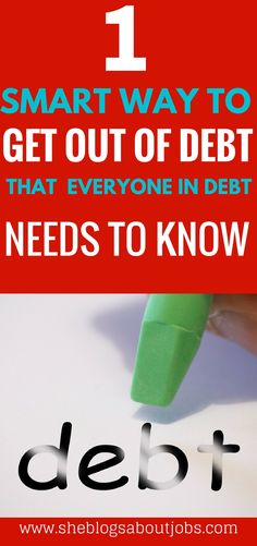 Click the image to learn of a super smart way to get out of debt this year