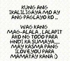kung ikaliligaya mo Memes Pinoy, Pinoy Quotes, Hugot Lines Tagalog Funny, Japanese Tattoo Words, Tagalog Qoutes, Love Poems And Quotes, Patama Quotes, Hugot Quotes, Crying Girl