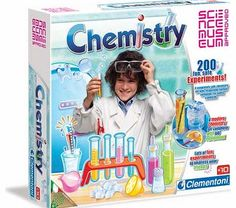 Clementoni Science Museum Chemistry at Home Kit A complete lab with a rich set of scientific instruments to carry out 200 experiments that are both safe and easy. There is a rich manual which helps you to carry out fun experiments with everyday sub http://www.comparestoreprices.co.uk/science-and-discovery-toys/clementoni-science-museum-chemistry-at-home-kit.asp