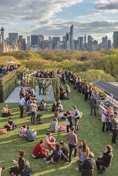 NYC's 10 Best Rooftop Bars via @PureWow