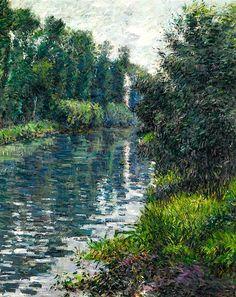 Gustave Caillebotte 1848 - 1894 Le Petit Bras De La Seine, Argenteuil